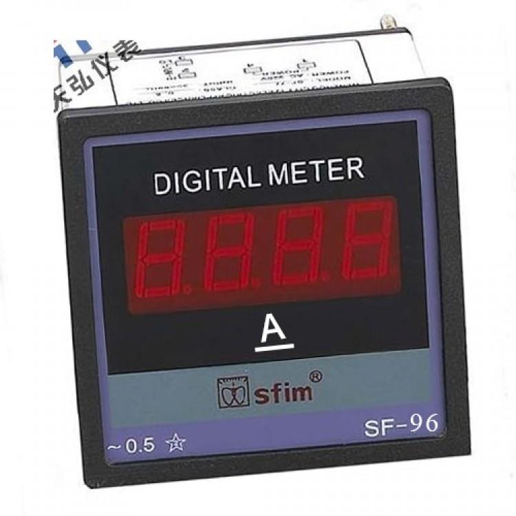 Digital DC Panel Ammeter
