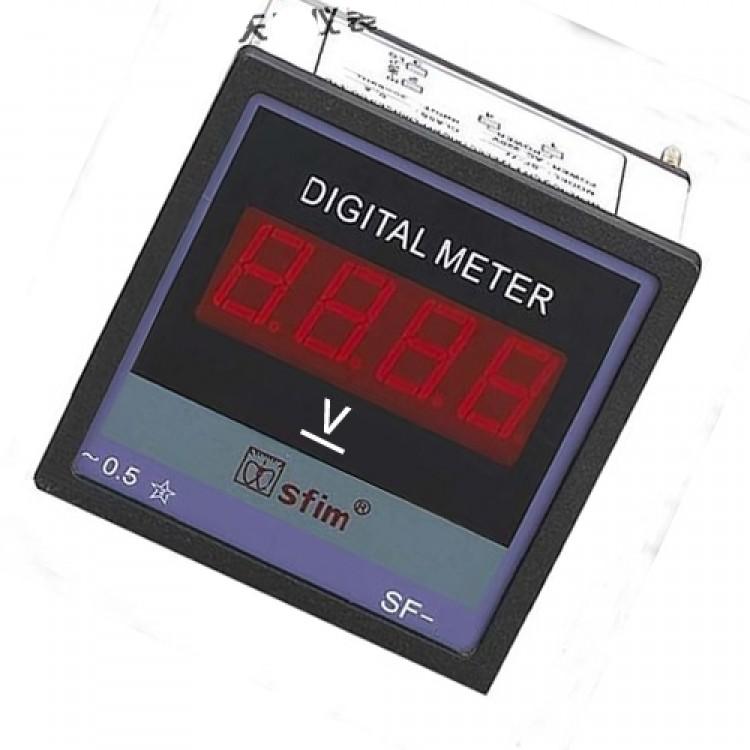 Digital DC Panel Volt Meter