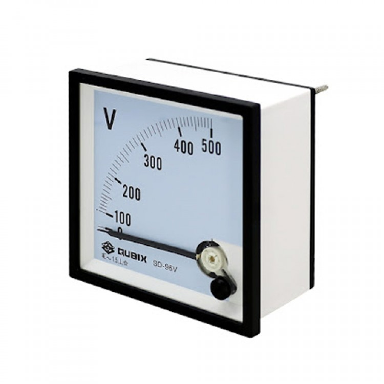 Analog Voltage Panel Meter__Risesun BE-96 0-500 volts