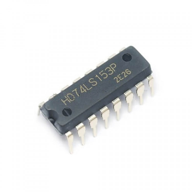 IC 74153Dual 4-line to 1-line data selectors / multiplexers