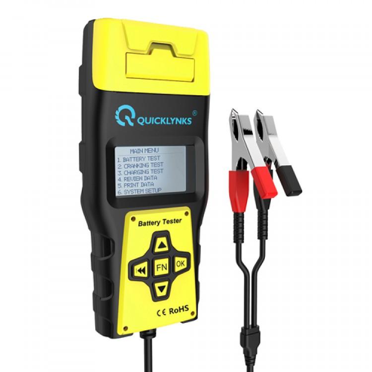 Vehicle Digital Battery Tester Ba1000_12V,24V with Printer.