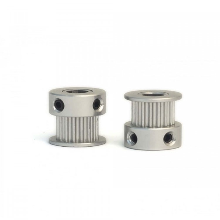 Aluminum GT2 Timing Pulley 20 Tooth 5mm Bore For 6mm Belt