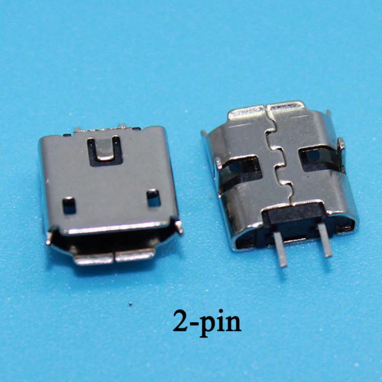 Micro Usb B Type Female 2 Pin