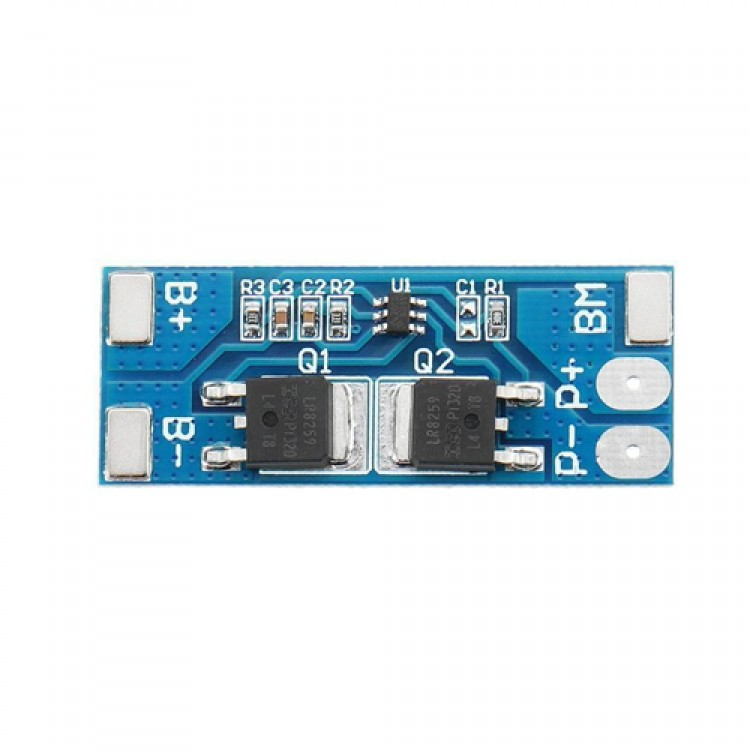2S BMS Lithium Battery Charger Protection Board PCB _18650 Li-ion lithium battery charger Module