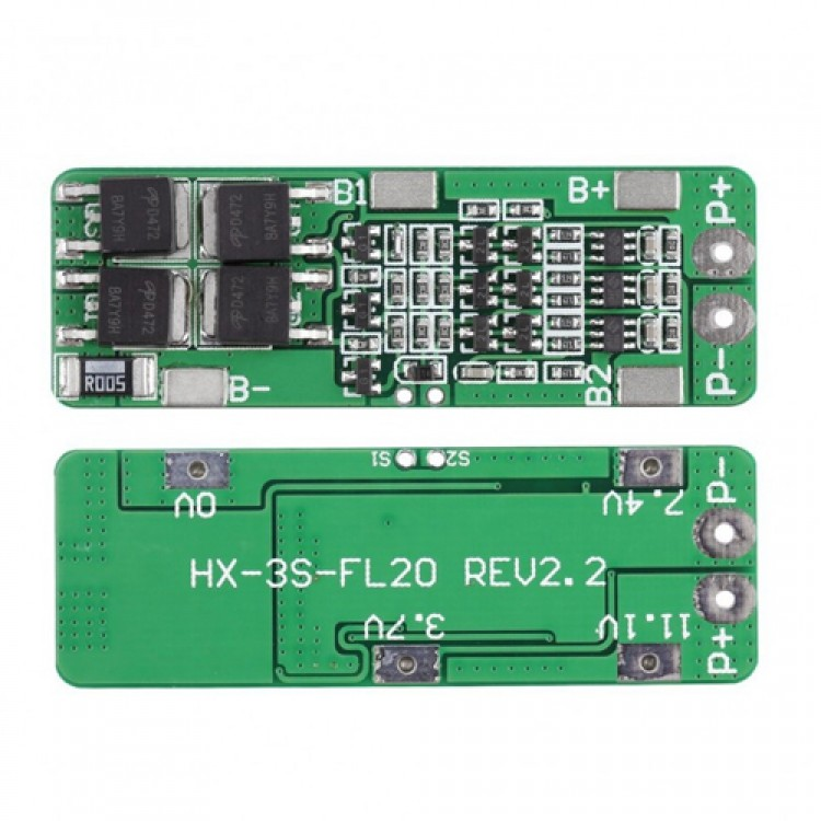 4S 20A BMS Lithium Battery Charger Protection Board PCB_18650 Li-ion lithium battery charger Module
